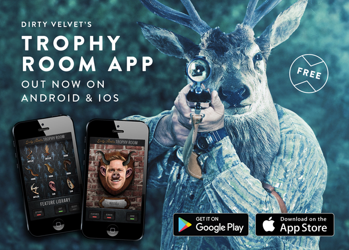 DirtyVelvet Trophy Room App