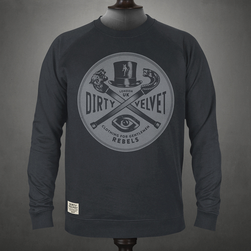 Rebel Crest Sweatshirt
