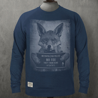 Mr Fox Mugshot Sweater