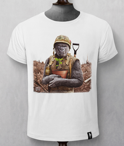 Gorilla Warfare T-shirt
