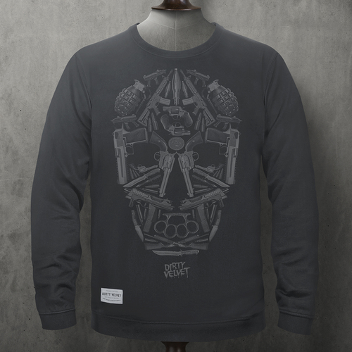 Death Mask Pullover