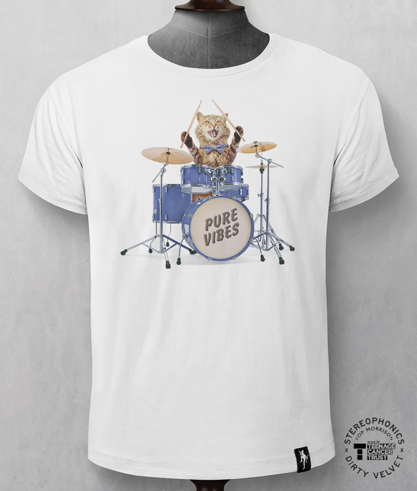 Drummer cat webshop flash
